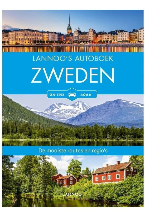 Lannoo Zweden Autoboek - On The Road 2019