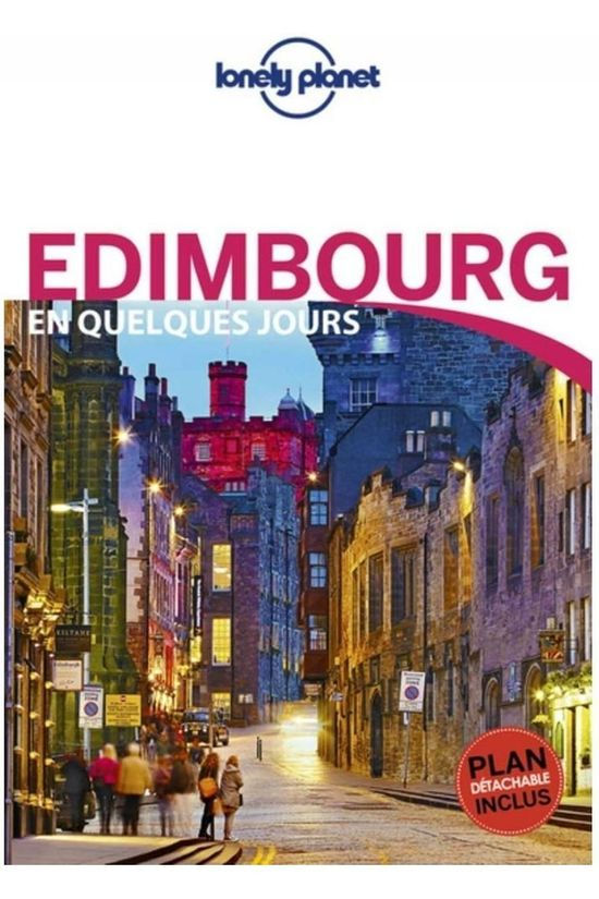 Lonely Planet Edimbourg En Quelq. Jours 4 Lp + Carte 2019