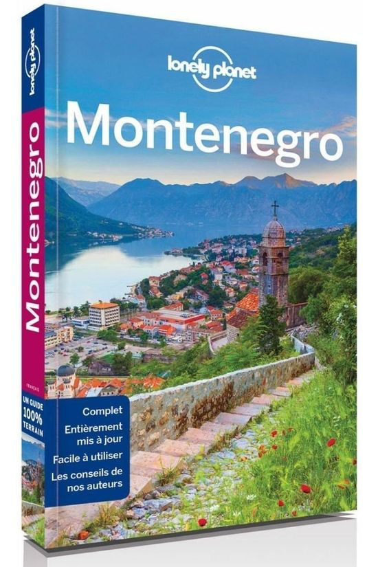 Lonely Planet Monténégro 2 Lp 2017