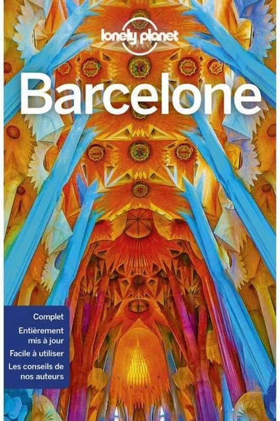 Lonely Planet Barcelone 11 Lp 2019