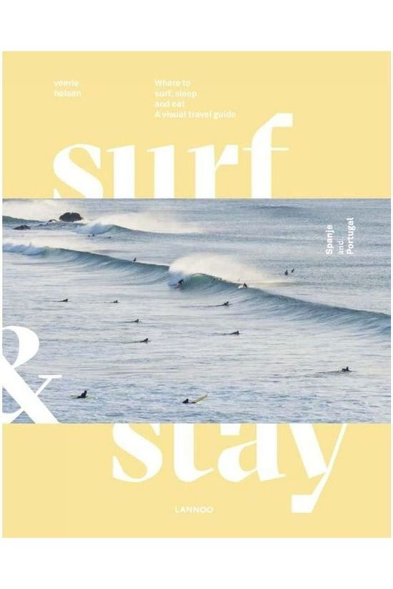 Lannoo Spain & Portugal Surf & Stay Travel Guide 2018