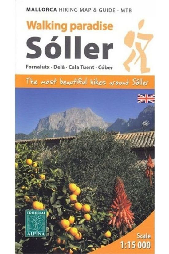 Editorial Alpina Soller - Mallorca Hiking Map & Guide - Mtb - HG060 2019