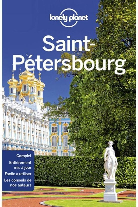 Lonely Planet St-Pétersbourg 3 2018