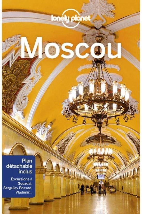 Lonely Planet Moscou 3 Lp 2018