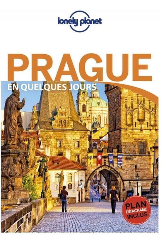 Lonely Planet Prague En Quelques Jours 5 + Carte 2018