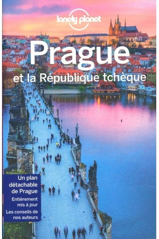 Lonely Planet Prague & La République Tchèque 4 2018