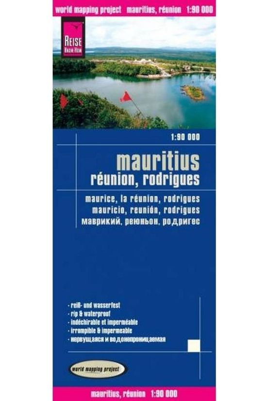 REISE KNOW-HOW Mauritius & Reunion & Rodrigues Rkh R/V (R) Wp Gps 2015