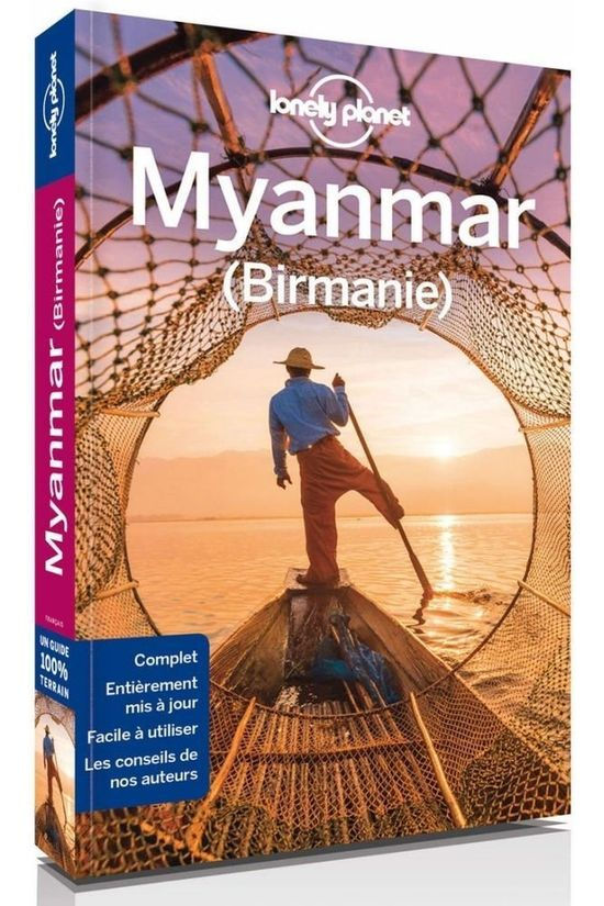 Lonely Planet Myanmar (Birmanie) 9 2017