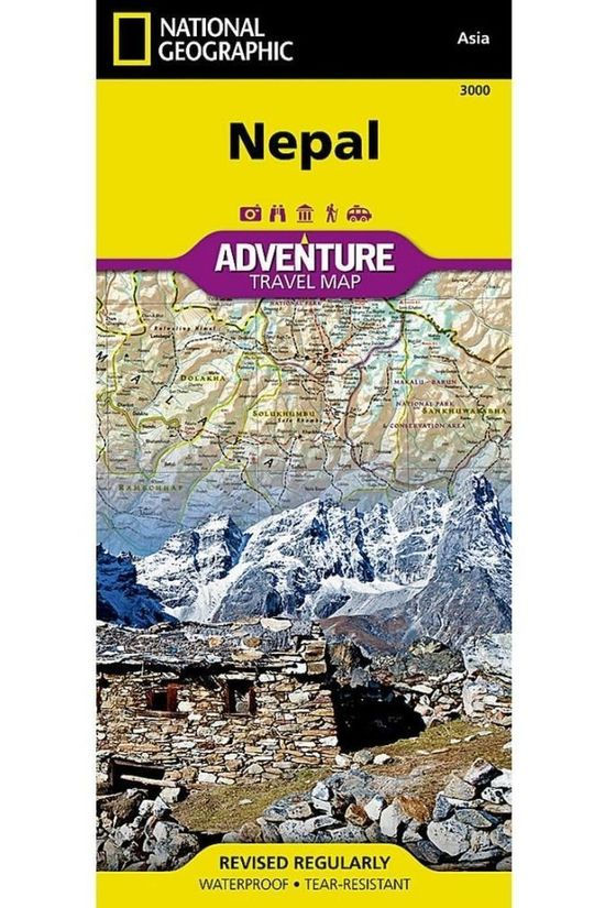 National Geographic Travel Guide Nepal adv. ng (r) r/v wp 2013