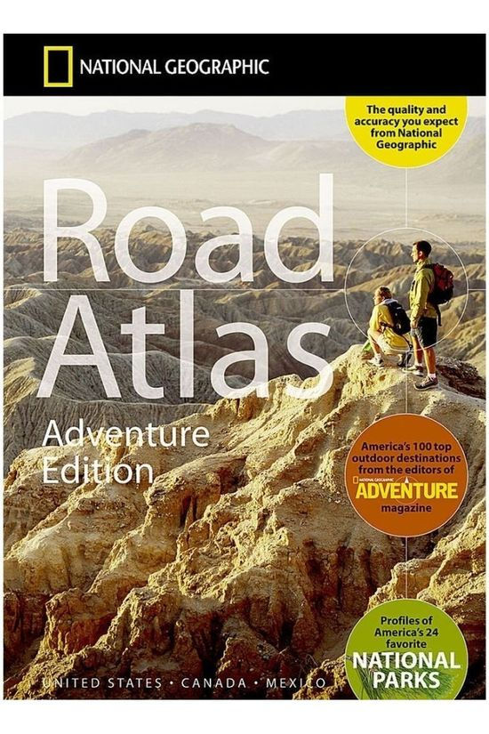 National Geographic USA / Canada / Mexico road atlas Adventure ed. 2019