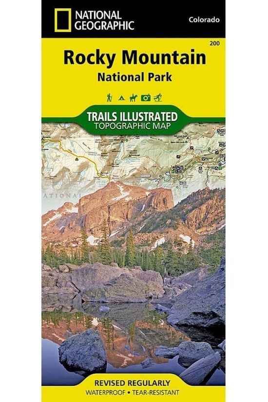 National Geographic Rocky Mountain NP 200 GPS ng r/v wp /CO 2016
