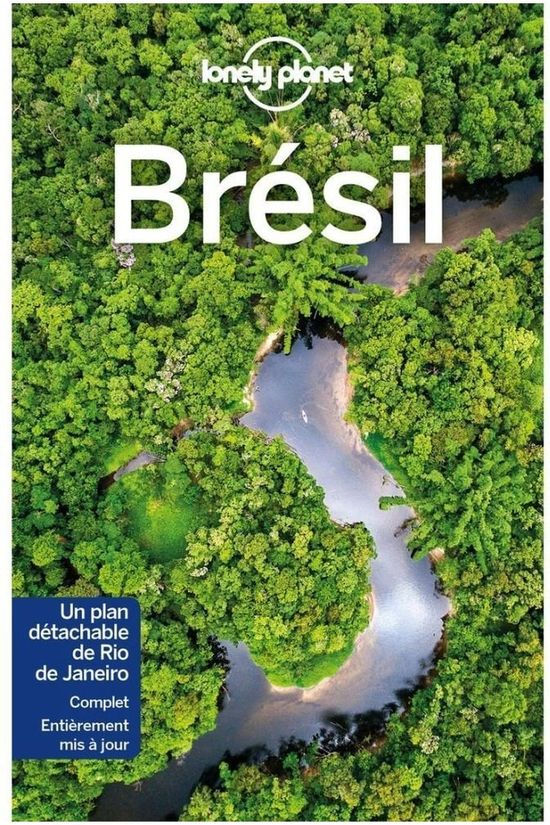 Lonely Planet Brésil 10 Lp 2019
