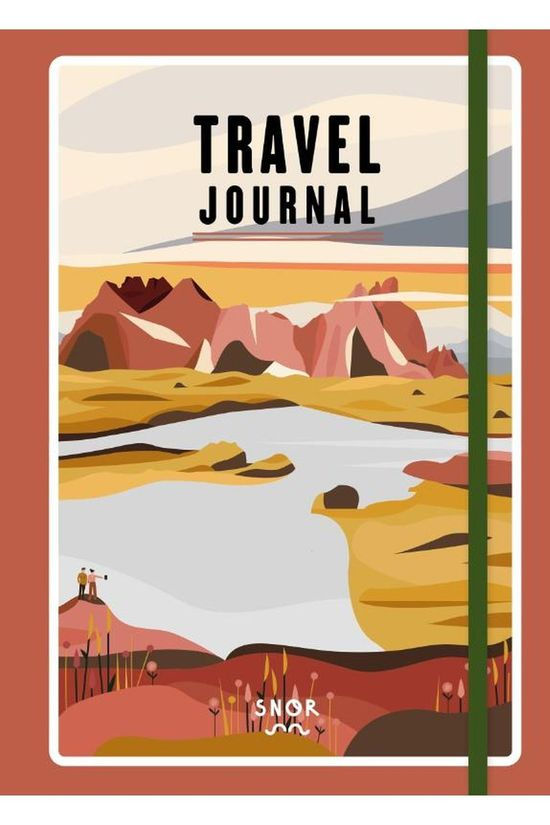 Outdoor Travel Journal 2020