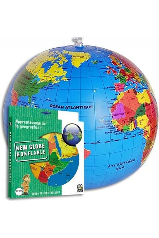 Caly Toys Wereldbol Globe Gonflable 2014