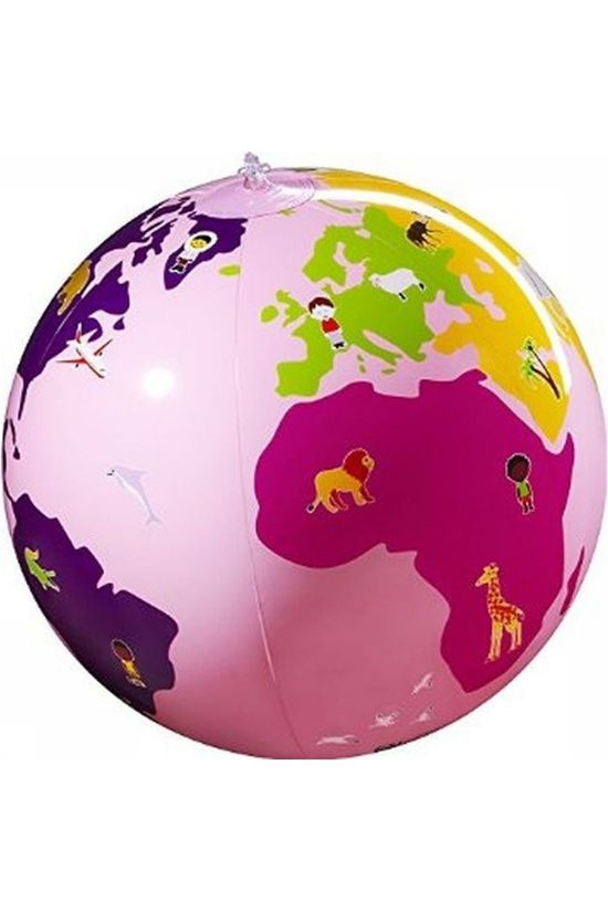 Caly Toys Inflatable Globe My Planet Culbuto Pink 2014