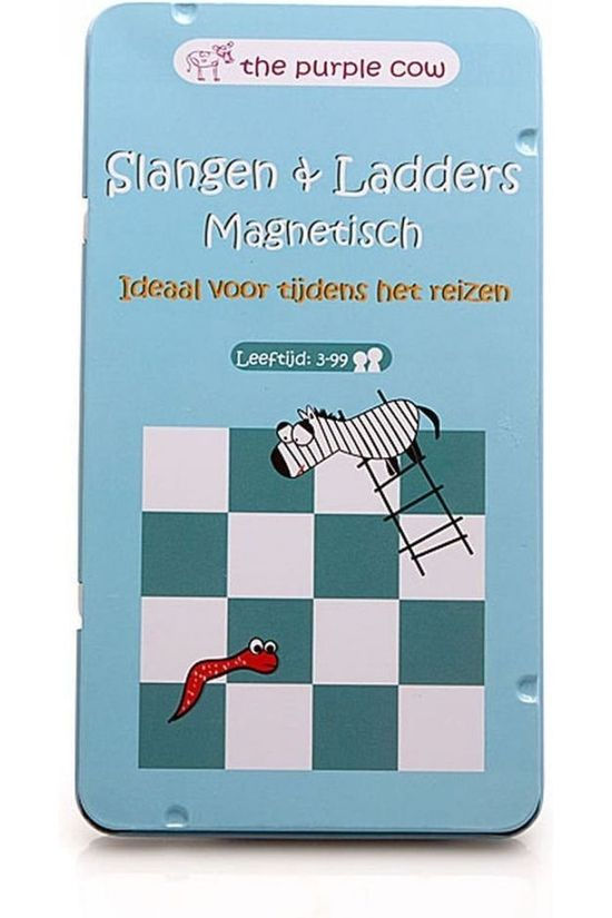THE PURPLE COW Livre de Voyage Slangen en Ladders - magn. reisspel 2015