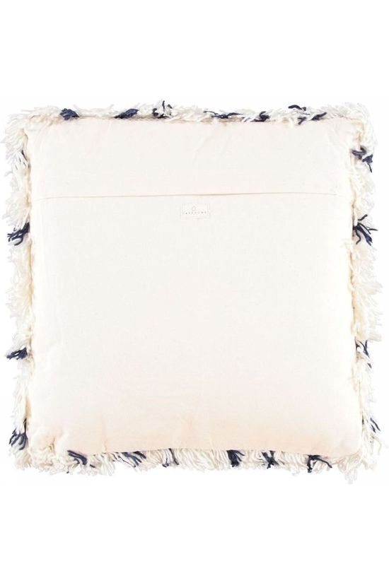 Yaya Home Tufted Mozaiek Cushion 50X50Cm white/dark blue