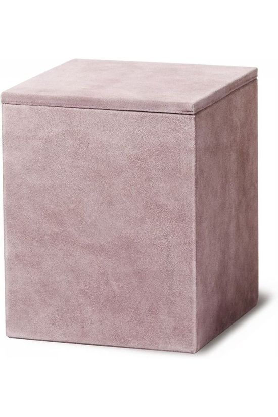 Yaya Home Kleine Opberger Suede Storage Box - Square Lichtpaars