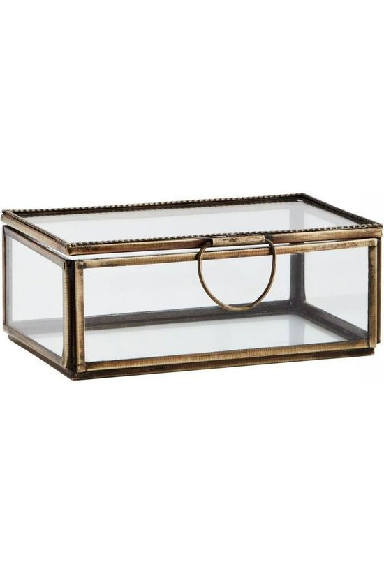 Madam Stoltz Kleine Opberger Glass Box Goud