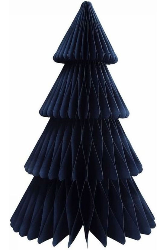 &KLEVERING Kerstcollectie Christmas Tree Paper Large Donkerblauw