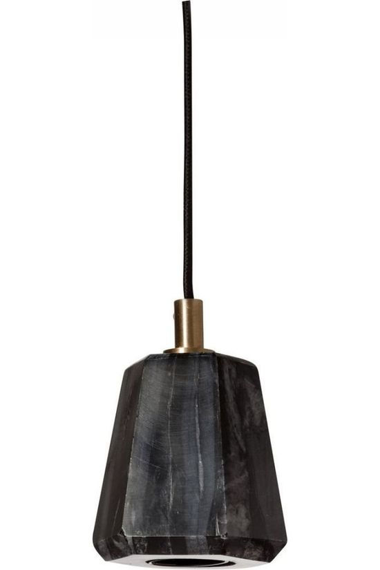 Yaya Home Hexagon Marble Fitting Lamp Zwart