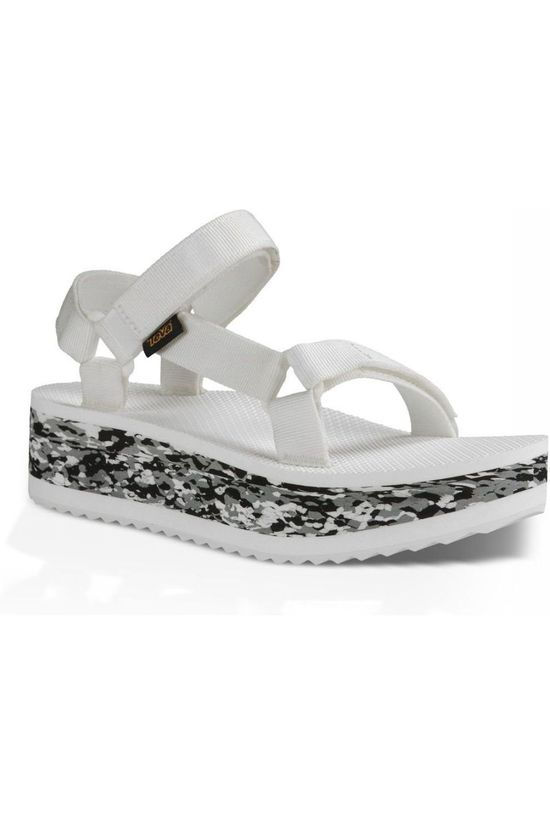 Teva POP-UP TEV W FLATFORM MARBLED white