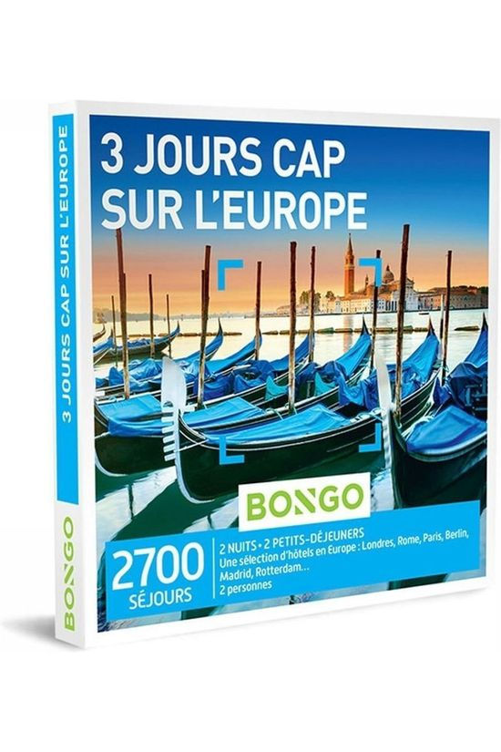 Bongo BONG 3 JOURS CAP SUR L'EUROPE No colour / Transparent