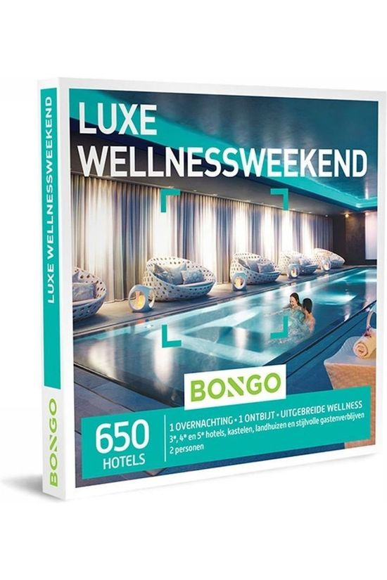 Bongo Bon Luxe Wellnessweekend Pas de couleur / Transparent