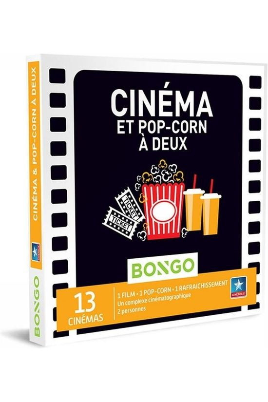 Bongo BONG CINÉMA ET POP-CORN À DEUX No colour / Transparent