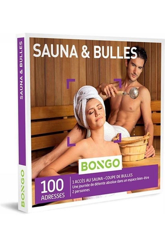 Bongo BONG SAUNA ET BULLES No colour / Transparent