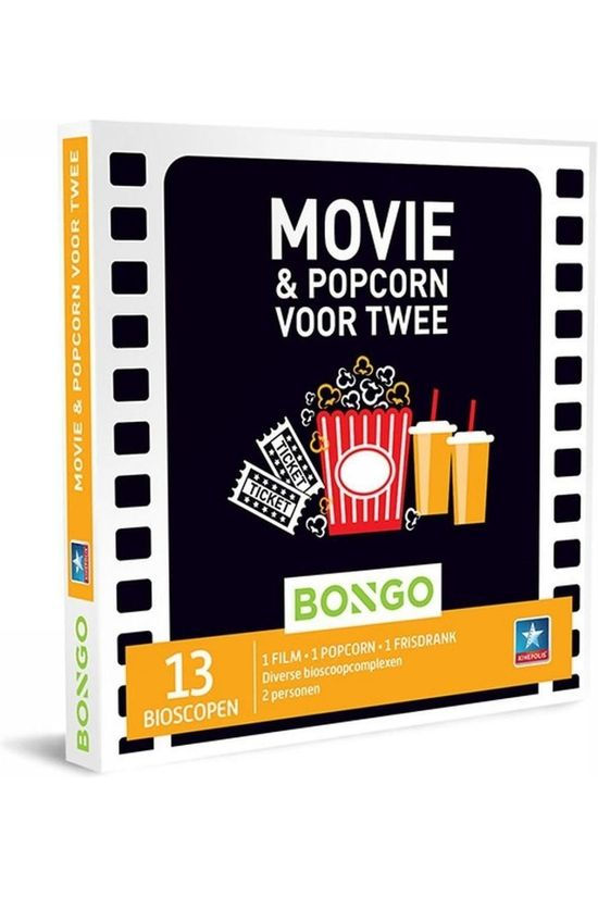 Bongo BONG MOVIE AND POPCORN VOOR TWEE No colour / Transparent