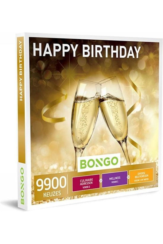 Bongo BONG HAPPY BIRTHDAY 29,90 No colour / Transparent