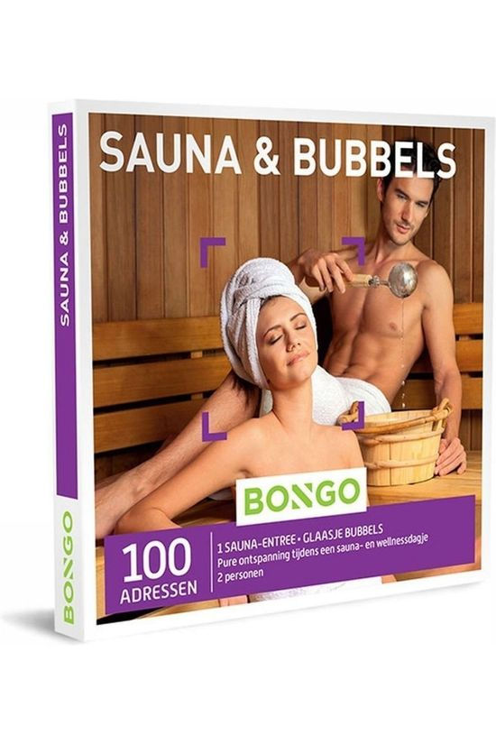 Bongo BONG SAUNA EN BUBBELS No colour / Transparent