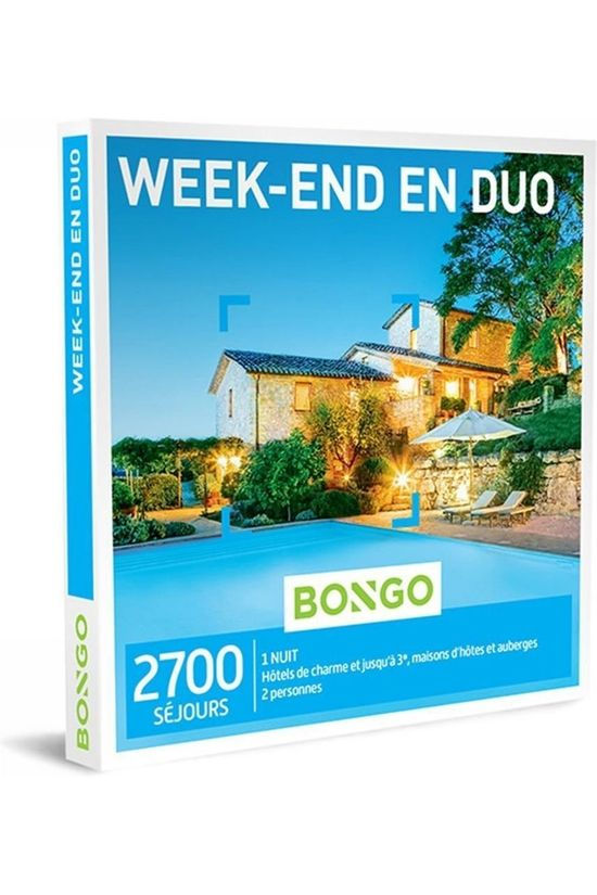 Bongo Bon Week-End En Duo Geen kleur / Transparant