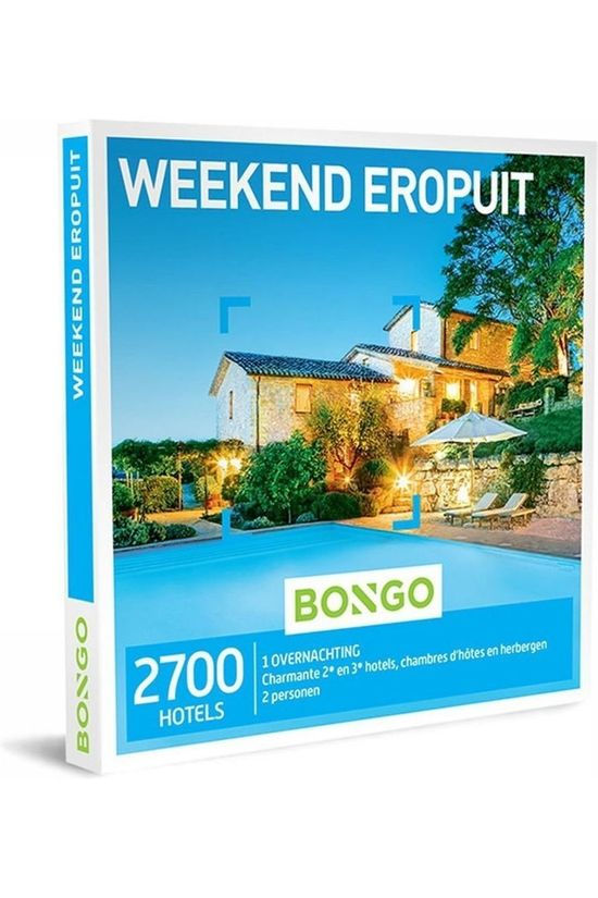 Bongo BONG WEEKEND EROPUIT No colour / Transparent
