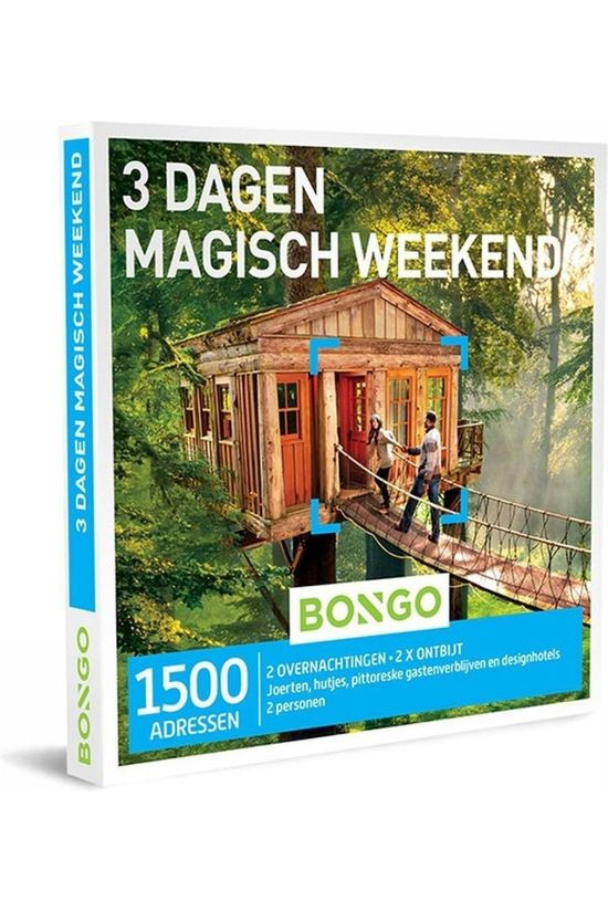 Bongo Bon 3 Dagen Magisch Weekend Pas de couleur / Transparent
