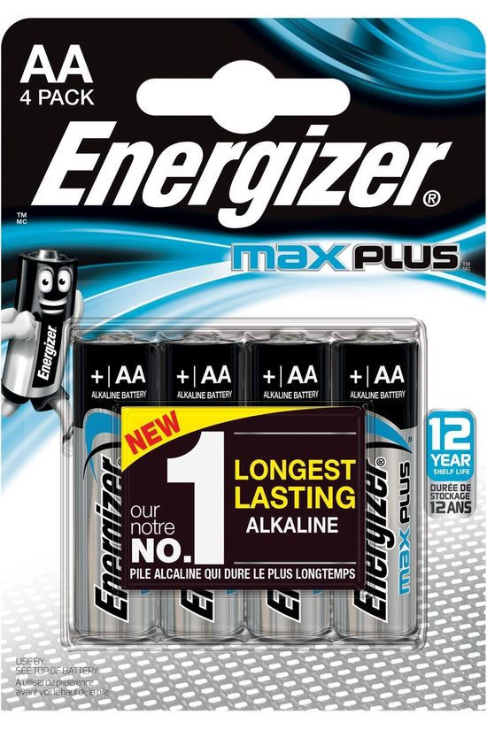 Energizer Gifts Men Battery AX Plus LR06 AA BL4 No colour / Transparent