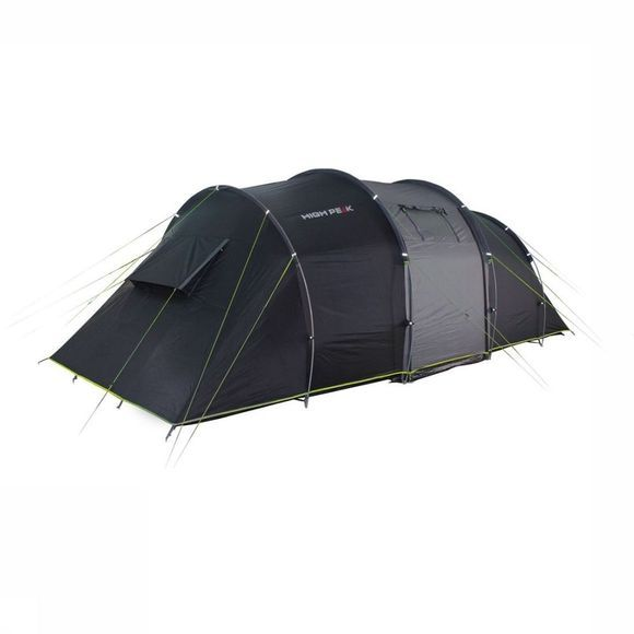 High Peak Tent Tauris 4 Donkergrijs/Lime