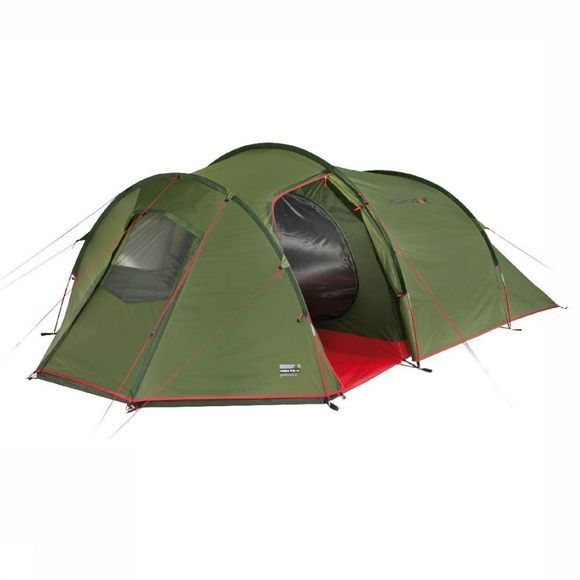 High Peak Tent Goshawk 4 Middengroen/Middenrood