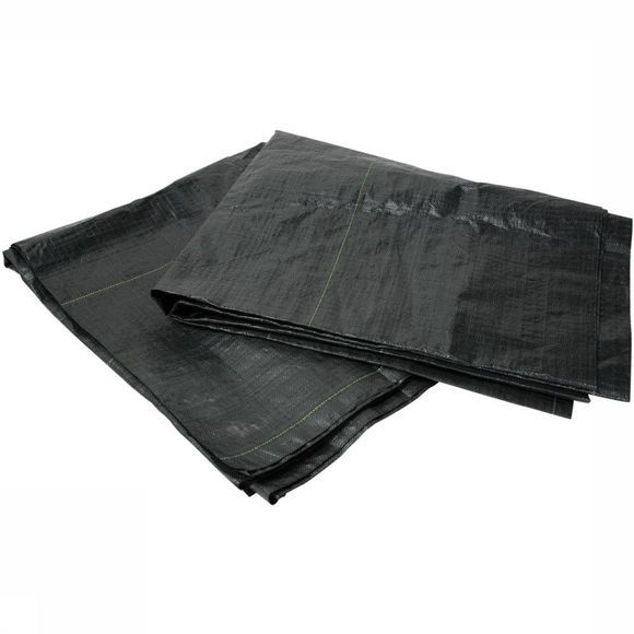 Bo-Camp Ground Sheet Gronddoek Eco 2,5 X 5 Meter black