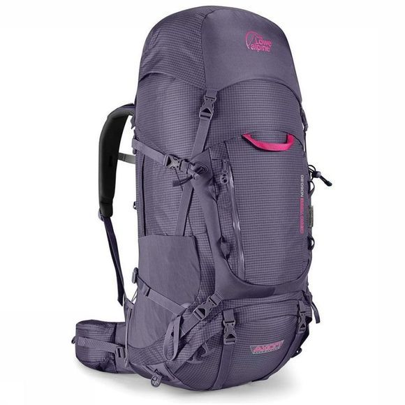 Lowe Alpine Backpack  Cerro Torre 60 + 20 dark purple