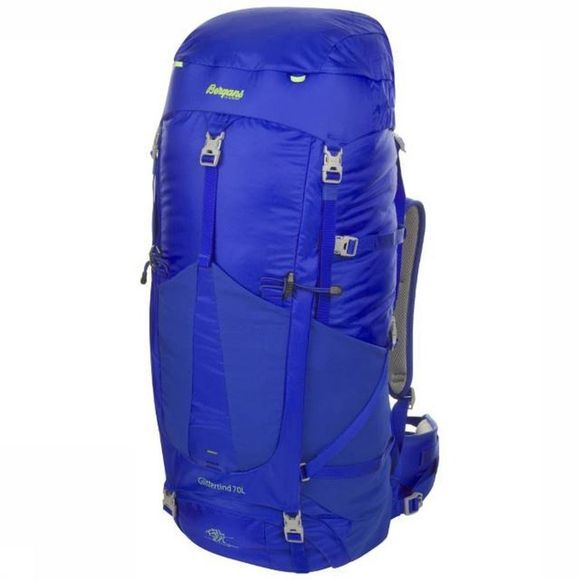 Bergans Backpack Glittertind 70L Medium royal blue