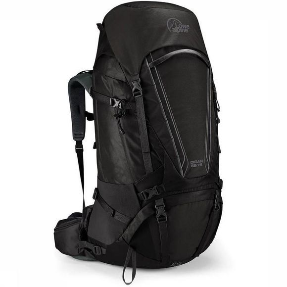 Lowe Alpine Backpack  Diran 65:75 dark grey
