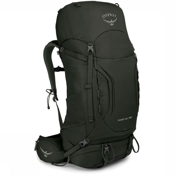 Osprey Backpack  Kestrel 58 dark khaki