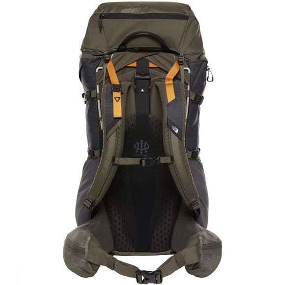 The North Face Backpack  Terra 65 dark grey/dark green