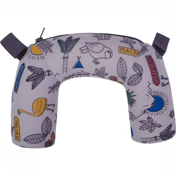 Macpac Accessoire Child Carrier Pillow Sleepyhead Lichtgrijs
