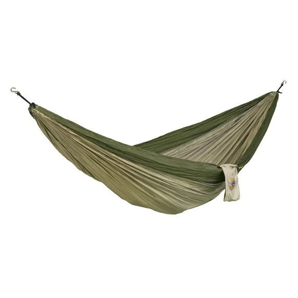 Ticket To The Moon Hammock Single green/mid khaki