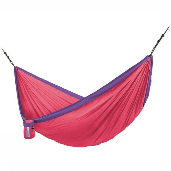 La Siesta Hangmat Colibri 3.0 Single Middenrood/Paars
