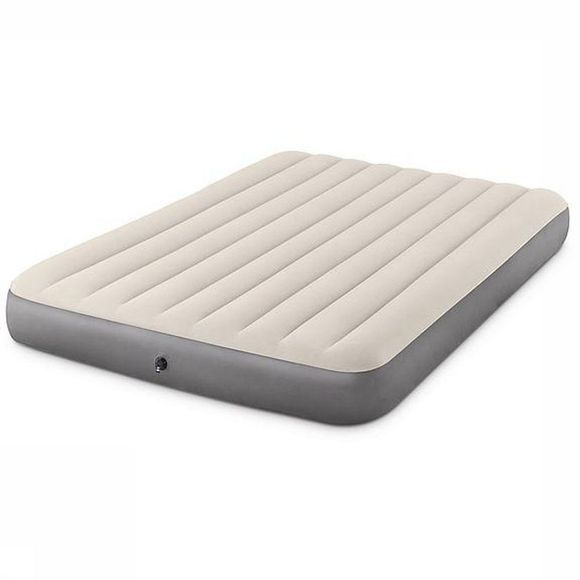Intex Air Bed Deluxe High Airbed Ecru