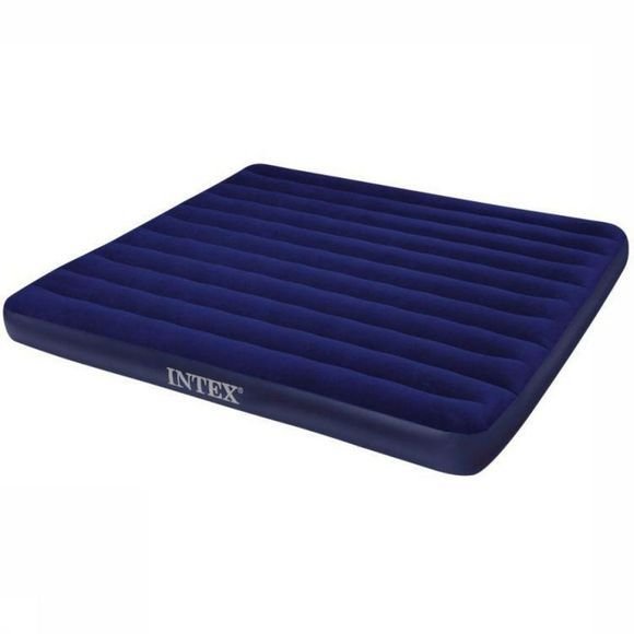 Intex Luchtbed Luchtbed Downey King Donkerblauw
